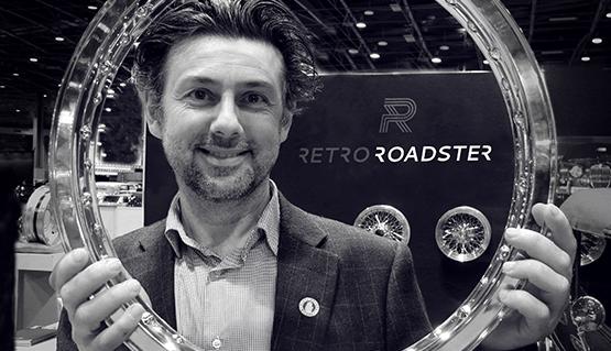 Corneliu Nastase, fondateur de Retro Roadster